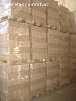 1t. Holzbriketts fr  110.- und 1t. Holzpellets fr  120.-