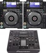 2x PIONEER CDJ 2000 & 1x DJM 2000 MIXER DJ PACK at $2800USD